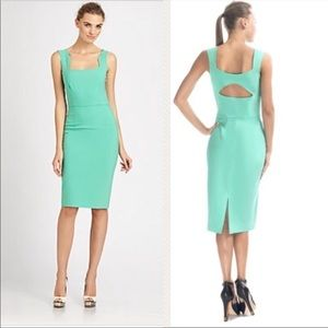 Rachel Roy stretch mint green dress